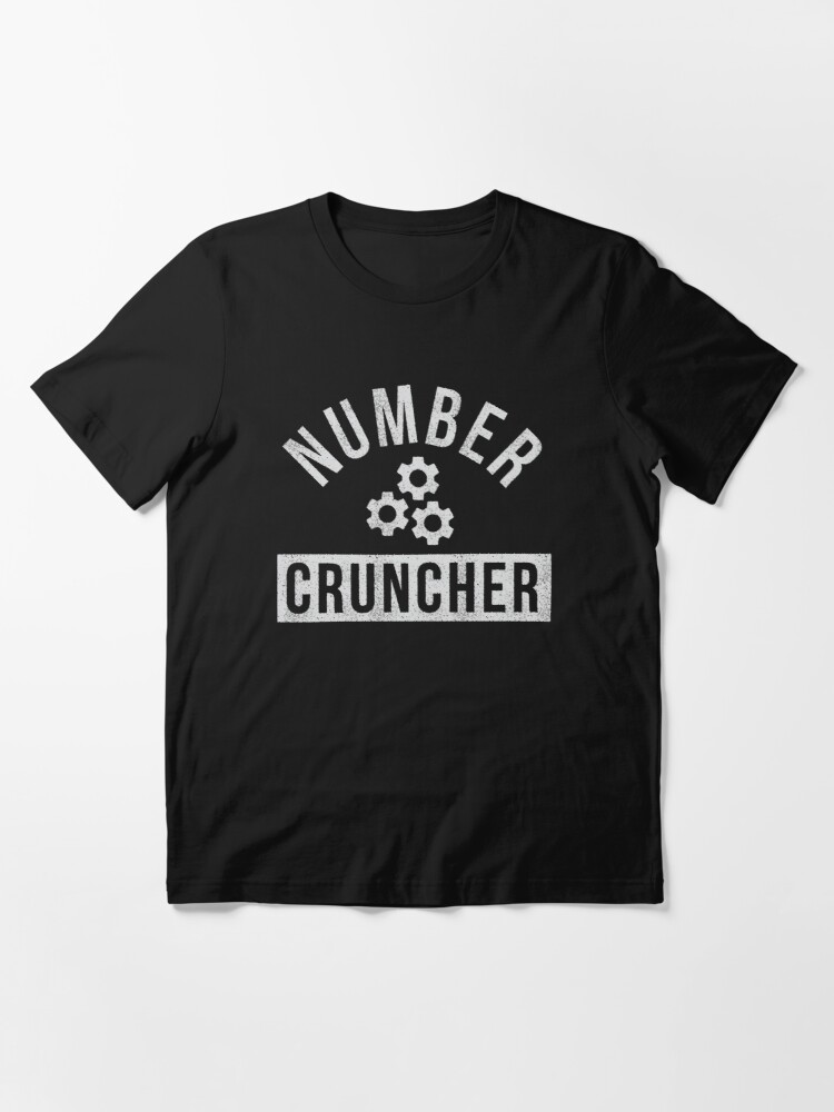Alternate view of Number Cruncher Essential T-Shirt