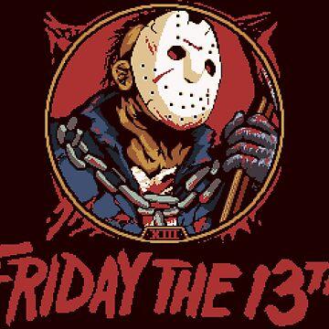 Jason Bloody Portrait ~ Friday the 13th by ShingoPx