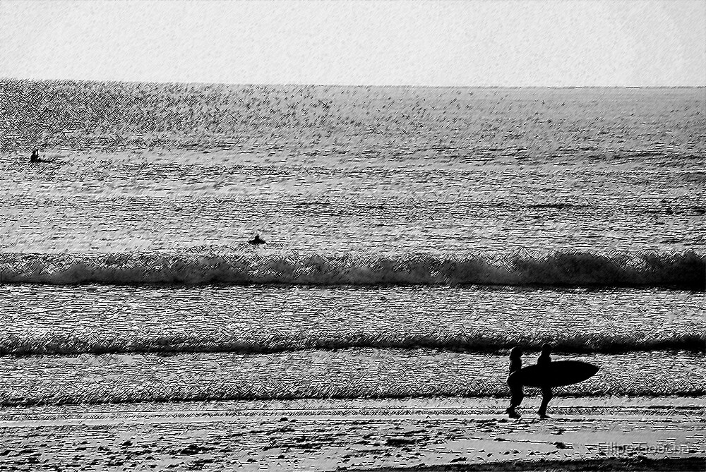 Going to surf series X (2) by Filipe Goucha