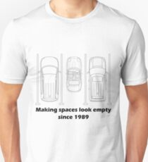 MX-5 making spaces look empty since 1989 Unisex T-Shirt