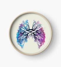 Blue Roots of Lungs  Clock