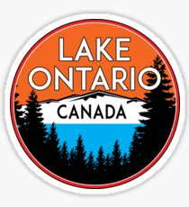 LAKE ONTARIO CANADA GREAT LAKES Sticker
