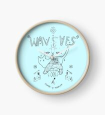 Wavves Clock