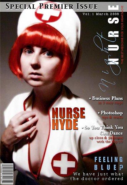 night nurse magazine by Bronwen Hyde
