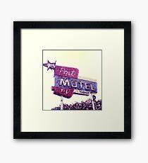 Port Motel Framed Print