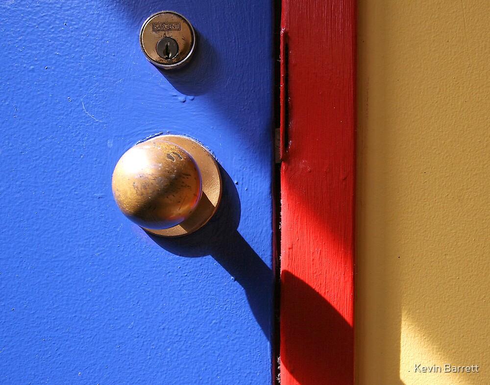 Door at Navy Pier by Kevin Barrett