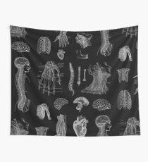 Vintage Anatomie Print Wandbehang