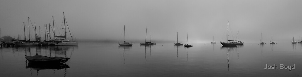 Misty Morning, Toronto Bay by Josh Boyd