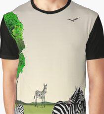 Animal Collage 3 Graphic T-Shirt