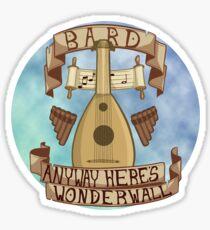 Wie auch immer, hier ist Wonderwall Sticker