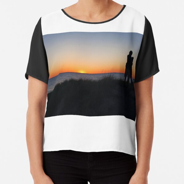 Lovers Sunset Chiffon Top