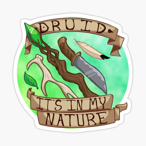 It's In My Nature Sticker