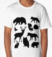 Animal Collage 4  Long T-Shirt