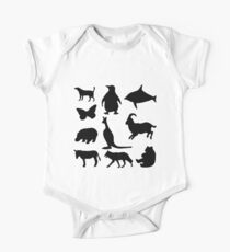 Animal Collage 5 Kids Clothes