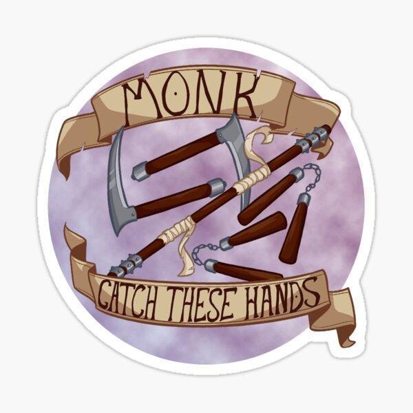 Catch These Hands Sticker