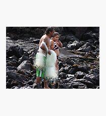 Net Fishing Photographic Print