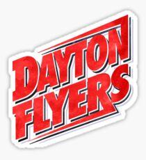 Dayton Flyers Watercolor Logo Sticker