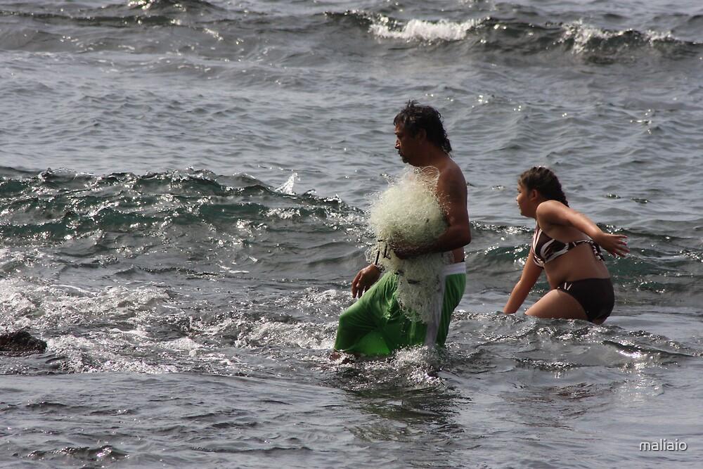 Net Fishing 2 by maliaio