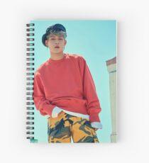 jooheon shine forever Spiral Notebook