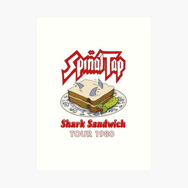 Spinal Tap - Shark Sandwich Tour 1980 Art Print