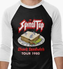 Spinal Tap - Shark Sandwich Tour 1980 Men's Baseball ¾ T-Shirt