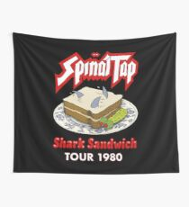 Spinal Tap - Shark Sandwich Tour 1980 Wall Tapestry