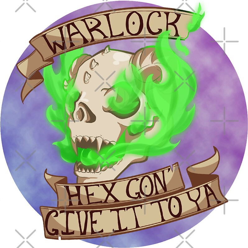 Quot Hex Gon Give It To Ya Quot Stickers By Matte Bat Redbubble