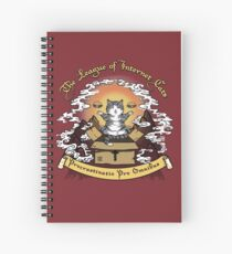 The League of Internet Cats Spiral Notebook