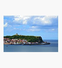 Beautiful Clouds Over Scarborough Photographic Print