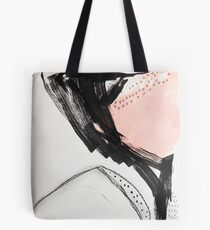 First Blush Abstract Painting Tote Bag