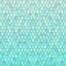 Mint Mermaid Scales by artlovepassion