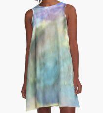 Puffs of Color A-Line Dress