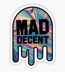 Mad Decent Hologram Sticker