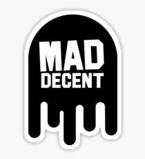 Mad Decent Black Sticker