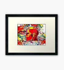Thinking color 2000  Framed Print