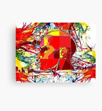 Thinking color 2000  Canvas Print