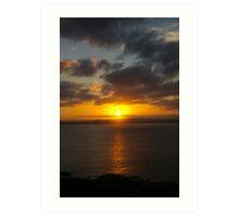 Montague Island Sunset Art Print