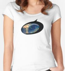 Eye of the Storm - Abstract Armilla Women's Fitted Scoop T-Shirt