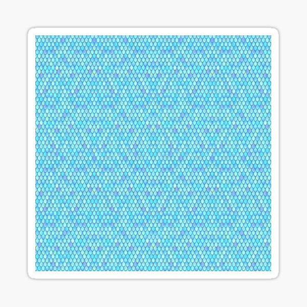 Ocean Mermaid Scales Sticker