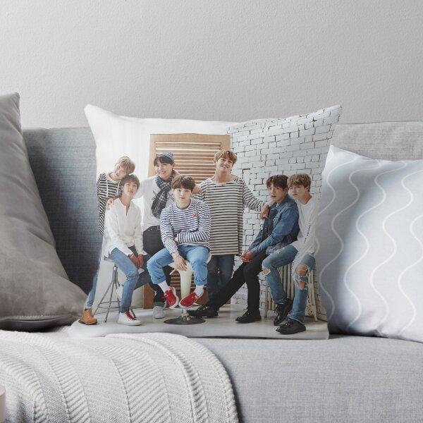 BANGTAN BOYS OT 7 Throw Pillow