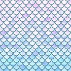 Lavender Mermaid Scales by artlovepassion