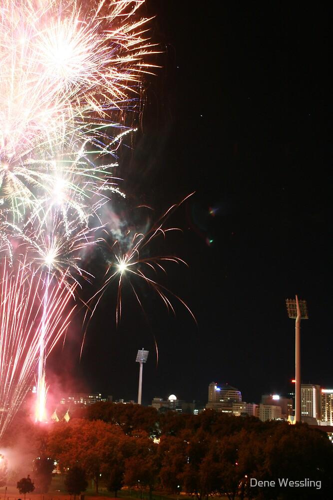 Fireworks  by Dene Wessling