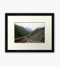Arthurs Pass Framed Print