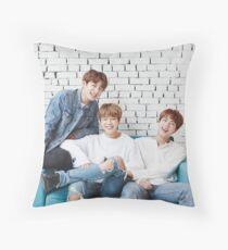 jungkook jimin and jin bts Throw Pillow