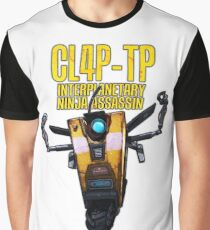 CL4P-TP INTERPLANETARY NINJA ASSASSIN (Clap-Trap) Graphic T-Shirt