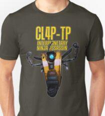 CL4P-TP INTERPLANETARY NINJA ASSASSIN (Clap-Trap) T-Shirt