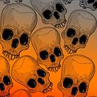 Multitude of Skulls by fakeface