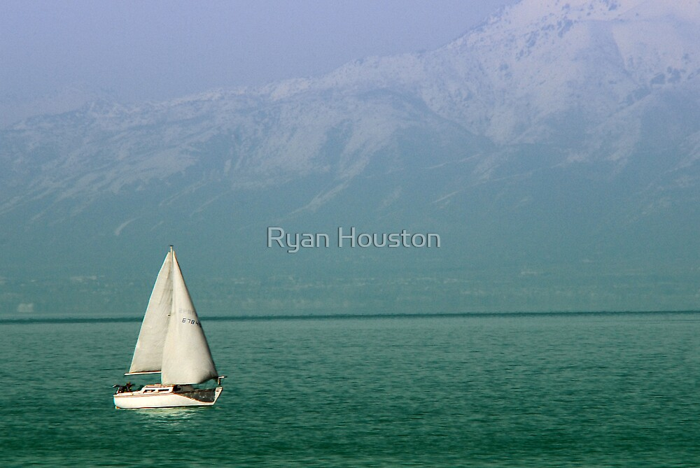Sailing on Easter Sunday - The Great Salt Lake by Ryan Houston