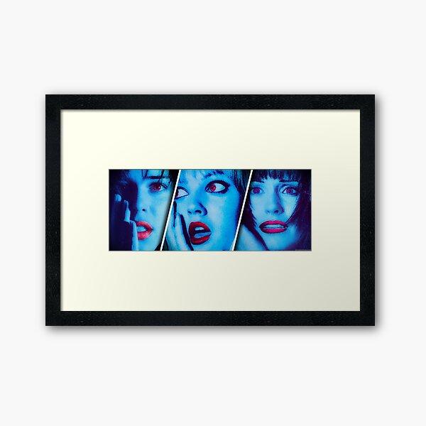VHScream (No Text) Framed Art Print