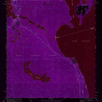 USGS TOPO Map Florida FL Salt Springs 348390 1970 24000 Inverted by wetdryvac